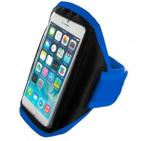 Neoprene Material Sports Armband Case for iPhone 6 - ZE-AD008 - Blue