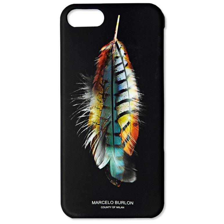 Marcelo Burlon Wing Feather Tpu Case For Iphone 6 Black