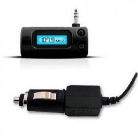 FM Transmitter dengan Charger Mobil - BEL-030-M - Black