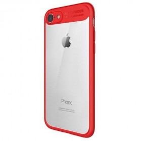 MCDODO PC + TPU Case for iPhone 7/8 Plus - PC2933 - Red - 2