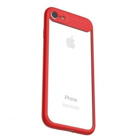 MCDODO PC + TPU Case for iPhone 7/8 Plus - PC2933 - Red - 3
