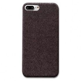 SoCouple Cloth Tekstur TPU Softcase for iPhone 7/8 - Brown