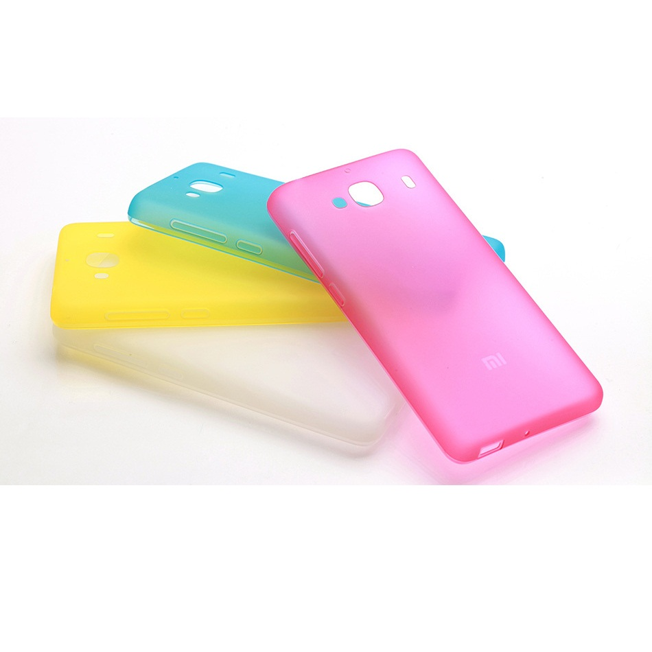 Ultra Thin Tpu Protection Case For Xiaomi Redmi 2 Prime Pink