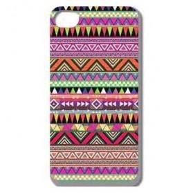 New Stylish Aztec Tribal Pattern Retro Plastic Case for iPhone 6 - HW-05