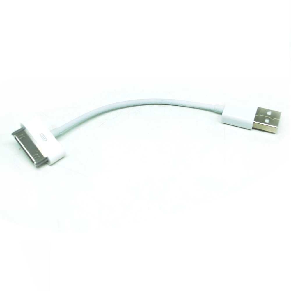 apple 30 pin to usb cable data for iphone ipad ipod. Black Bedroom Furniture Sets. Home Design Ideas