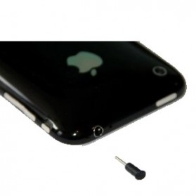 Earphone Anti-dust Stopper for iPhone 3G 3GS - Black - 2