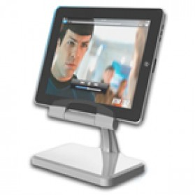 New Rotational Charger Stand for iPad 2 & iPad - Silver