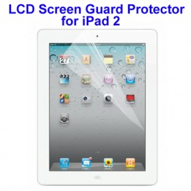 Tablet Screen Protector / Tempered Glass - Professional LCD Screen Guard Protector for iPad 2