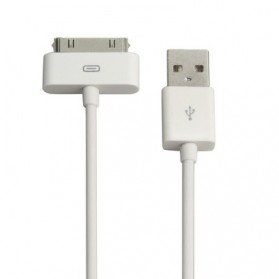 Apple 30 Pin to USB Cable Data for iPhone, iPad, iPod - 1m (ORIGINAL)