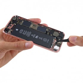 Baterai iPhone 6 HQ Li-ion Replacement Battery 1810mAh dengan Konektor (Original) - Black - 3