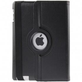 Smart Cover Kulit 360 Derajat untuk New iPad (iPad 3) / iPad 2 - Black - 4