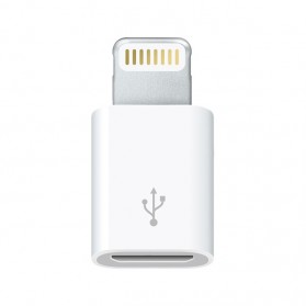 Apple Lightning to Micro USB Adapter (ORIGINAL) - White