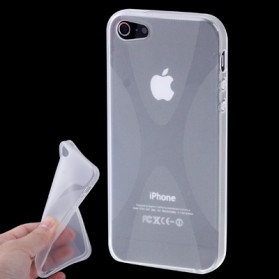 X-Shaped TPU Case for iPhone 5/5s/SE - Transparent