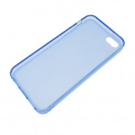 Gadget Media Player, Tablet , Smartphone, Power Bank, Laser Presenter - 0.3mm Ultra Thin Polycarbonate Materials TPU Protection Shell for iPhone 5/5s/SE - Blue