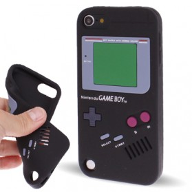 Game Boy Style Silicon Case for iPod Touch 5 - Black