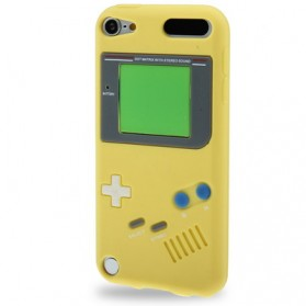Retro Game Console Silicon Case for iPod Touch 5 - Yellow