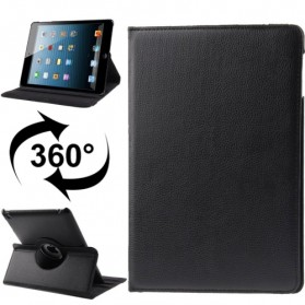 Smart Cover Kulit 360 Derajat untuk New iPad 5/6 - Black