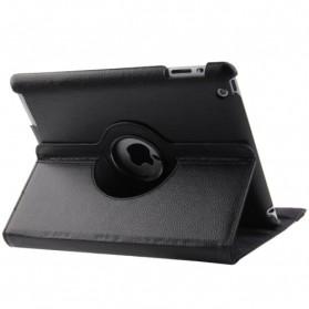 Smart Cover Kulit 360 Derajat untuk New iPad 5/6 - Black - 2
