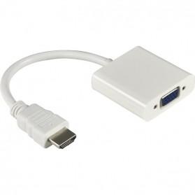 Taffware Kabel Adapter HDMI ke VGA Female - HD008 - White - 2