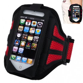 Sports Armband Case for iPhone 5/5s/5c/SE - Red