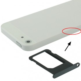 Original Sim Card Tray Holder for iPhone 5 - Black