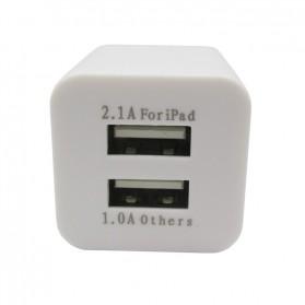 USB Charger 2 Port EU Plug - JBL1309 - White - 3