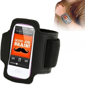 Sports Armband Case for iPod Nano 7 - 0001B - Black