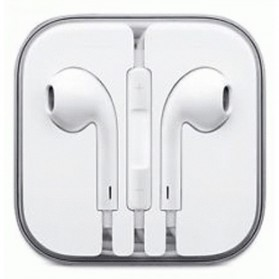 Apple EarPods Earphones for iPhone 5/5s/6/6+/iPod (Original) - White - 1