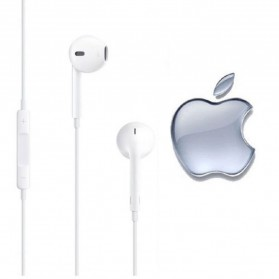 Apple EarPods Earphones for iPhone 5/5s/6/6+/iPod (Original) - White - 2