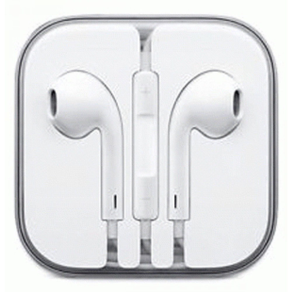 Apple Earpods Earphones For Iphone 5 5s 6 Ipod Original White Kabel Audio Spliter Remax Bagus No Kw