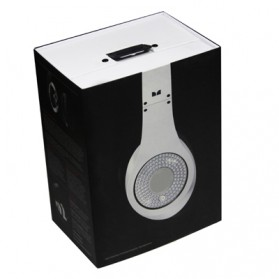 High Definition On-Ear Headphones for Smartphone with Logo - White - 7