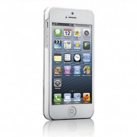 Bluetooth Keyboard Ultrathin Slide Out for iPhone 5/5S/SE - White - 2