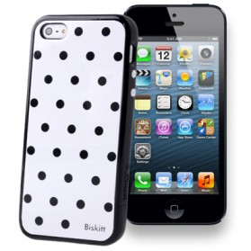 SGP Linear Series Dot Pattern Combination Case for iPhone 5/5s - Black