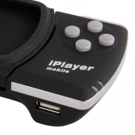 Wireless Bluetooth Game Controller for iPhone 4 & 4S/iPod Touch - Black - 5
