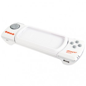 Wireless Bluetooth Game Controller for iPhone 4 & 4S/iPod Touch - White - 2