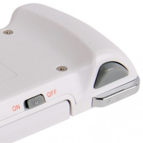 Wireless Bluetooth Game Controller for iPhone 4 & 4S/iPod Touch - White - 6