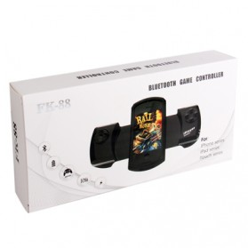 Wireless Bluetooth Game Controller for iPhone 4 & 4S/iPod Touch - White - 8