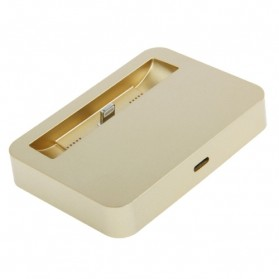 Apple Charging Dock Lightning 8 Pin for iPhone 5/5s/5c/iPod touch 5 - Golden - 3