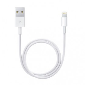 Apple Lightning Cable iOS 11 Compatible 0.5m - White