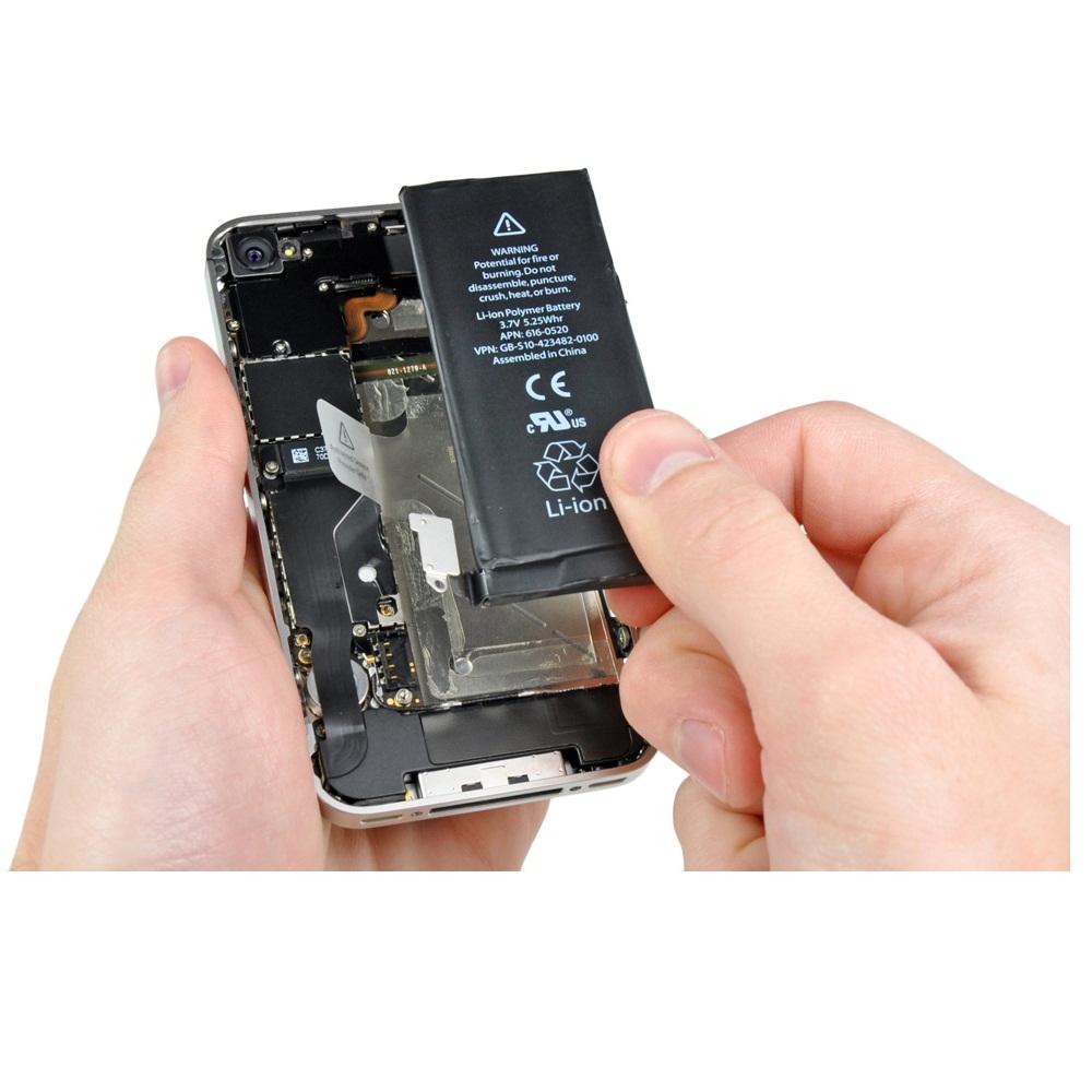 Baterai iPhone 4s HQ Li-ion Replacement Battery 1430mAh with Connector - 1  ... f3599e9de8