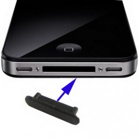 Dock Plug Anti-dust Stopper for iPhone 4 & 4S - 3