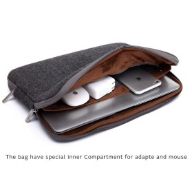 Kayond Waterproof Sleeve Case for Laptop 13 Inch - Black - 2