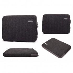 Kayond Waterproof Sleeve Case for Laptop 13 Inch - Black - 3