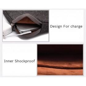 Kayond Waterproof Sleeve Case for Laptop 13 Inch - Black - 4