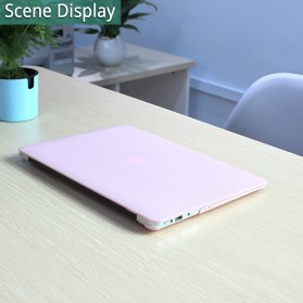 Batianda Hard Crystal Matte Frosted Case Cover for Macbook Air 13.3 Inch A1932 - Transparent - 4