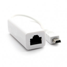 DeLOCK 8 Pin USB to RJ45 LAN Cable Adapter - White - 2