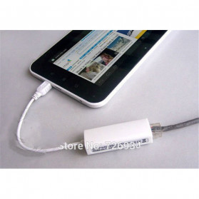 DeLOCK 8 Pin USB to RJ45 LAN Cable Adapter - White - 7