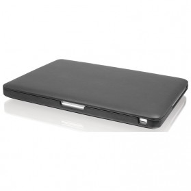 Leather Case for Macbook Pro 13 Inch Retina Display - Black