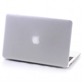Crystal Case Macbook Pro 2016 13.3 Inch Touch Bar dengan Logo Apple - Transparent