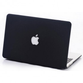 Crystal Case Macbook Pro 2016 15 Inch Touch Bar dengan Logo Apple - Black - 2